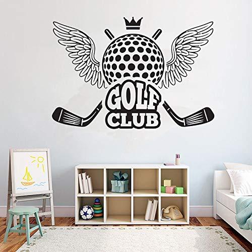 Geiqianjiumai Creative Club Wall Decor Wall Muursticker Verwijderbare vinyl muur glas sticker Sport Muurtattoo