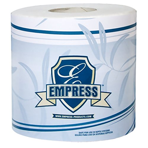 Empress BT 4232500 Bath Tissue Roll, 2-Ply, 4.25