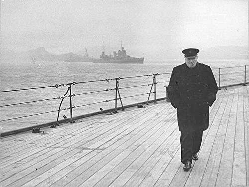 Infinite Photographs Photo: The Prime Minister's Return Journey Across The Atlantic,Winston Churchill,1941