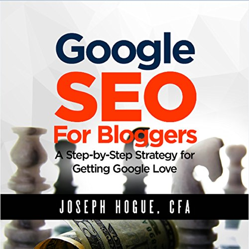 Google SEO for Bloggers audiobook cover art