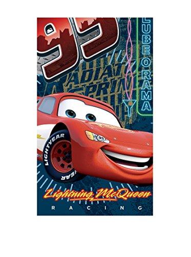 Disney Alfombra Cars Rayo Mcqueen Azul/Rojo 80 x 140 cm
