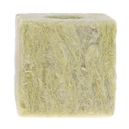 Lius Rockwool Cube Hydroponic Grow Media Bodenlose Kultivierung Pflanzen Kompressionsbasis