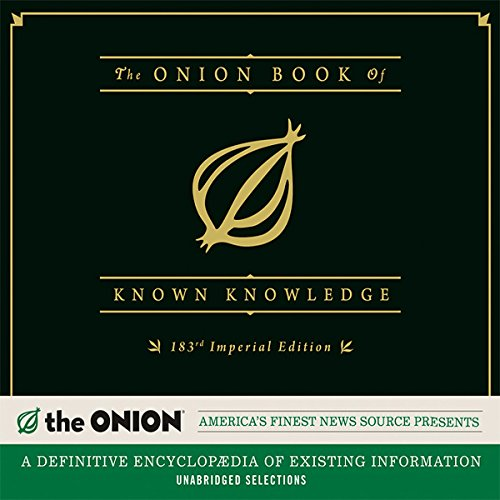 The Onion Book of Known Knowledge cover art