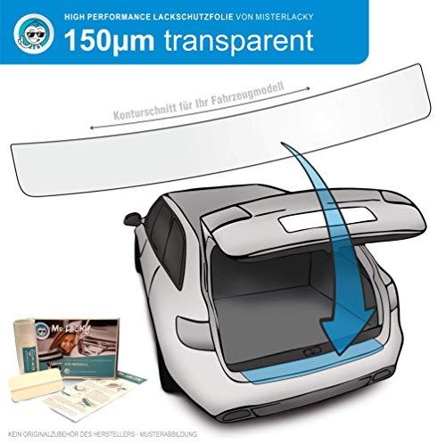 MisterLacky – Lackschutzfolie mit Rakel als Ladekantenschutz Folie passend für Toyota GT86 Typ ZN6, ab BJ 2012 in transparent (150µm)