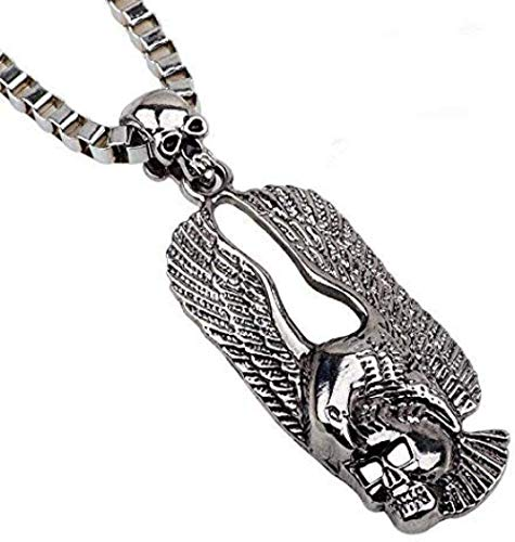 NONGYEYH co.,ltd Personalized Necklace Retro Stainless Steel Eagle Pendant Necklace Punk Rock Necklace