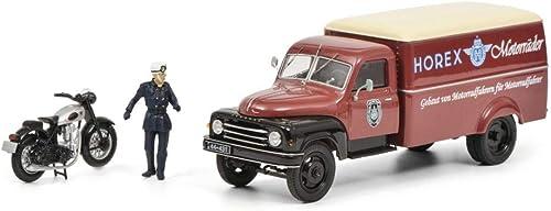 Simba Dickie 450293900 Modellminiatur Hanomag L28 Horex 1 43