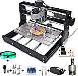 Cnc 3018 pro 3 axis router with 5.5W laser Module