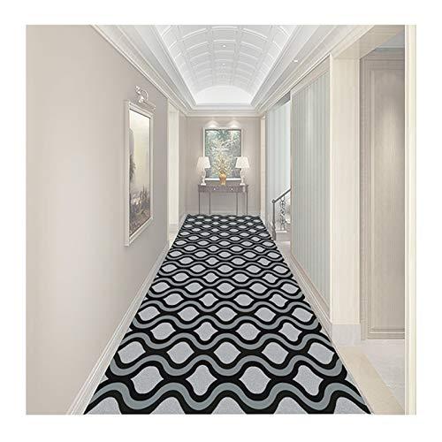 LIXIONG Alfombra Pasillo, Calentar Antideslizante Piso Alfombra, Durable Interior Puerta Estera para Niña Habitación Sala Cocina, Tamaño Personalizado (Color : A, Size : 0.9x1m)
