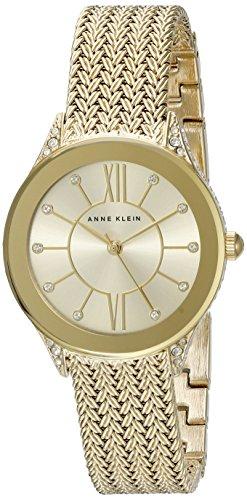 Anne Klein Women's AK/2208CHGB Swarovski...