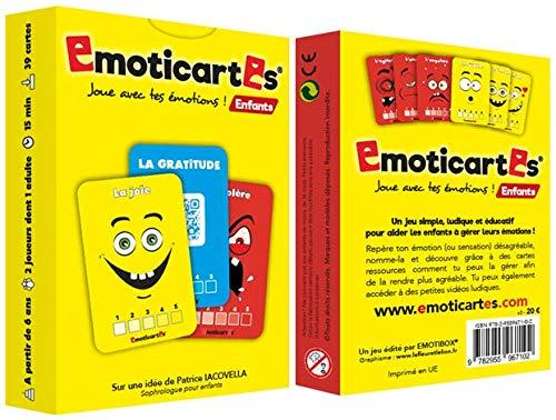 Emoticartes Enfants : Pour Aider l'Enfant à Comprendre et à Gérer ses Emotions (nouvelle...