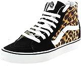 Vans Vn0a4u3c3i61-080, Zapatillas Mujer, Leopard Black True White, 40.5 EU