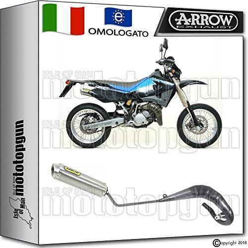 Arrow Auspuff Komplett Hom mini-thunder Titan Husqvarna SM 12520070720080852532su + 52600su