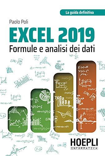 Excel 2019: formule e analisi dei dati