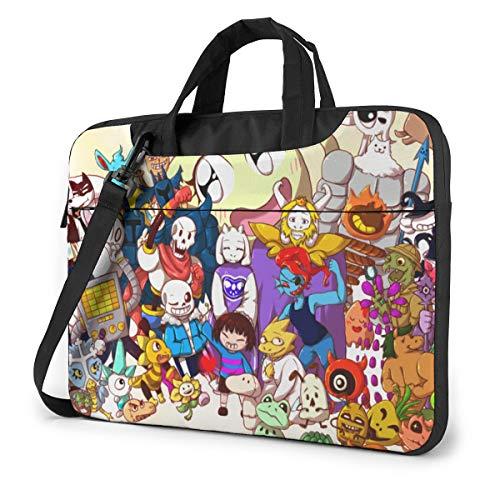Ktdbthut Undertale Shoulder Messenger Leisure Case Briefcase Sleeve for 13 Inch 14 Inch 15.6 Inch Laptop Laptop Case