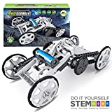 Mochoogle STEM Electric Mechanical Assembly Model Building Toys Kit - DIY Engineering Mechanics Climbing Vehicle, Circuit Building Projects for Kids and Teens - Science Experiments Using Real Motor