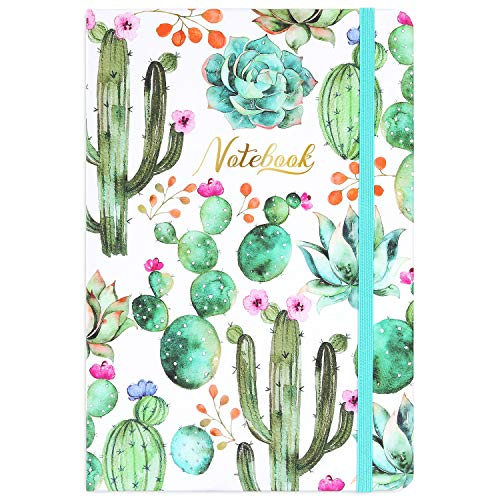 Ruled Notebook/Journal – Premium Thick Paper Writing Notebook, Hard Cover, Lined (8.35 x 5.8)