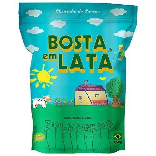 Fertilizante Orgânico Bosta em Lata Folhagens Zip - 1.5 kg