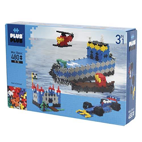 Plus Plus - Puzzle Mini 480 Pezzi, Basic