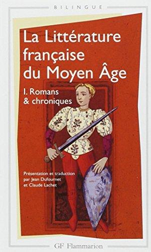 La littérature française du Moyen Âge, tome 1