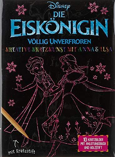 Disney Die Eiskönigin: Kreative Kratzkunst mit Anna und Elsa (Disney Eiskönigin)...