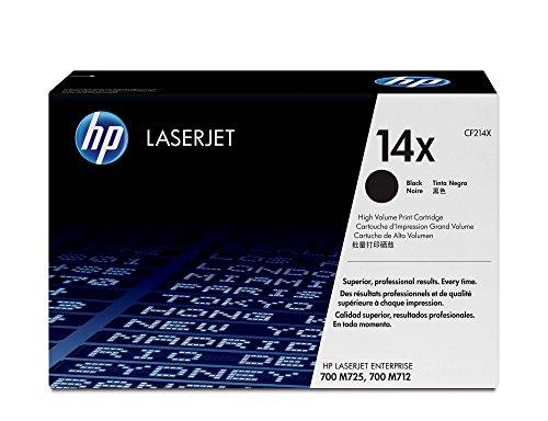 HP 14X | CF214X | Toner Cartridge | Black | High Yield