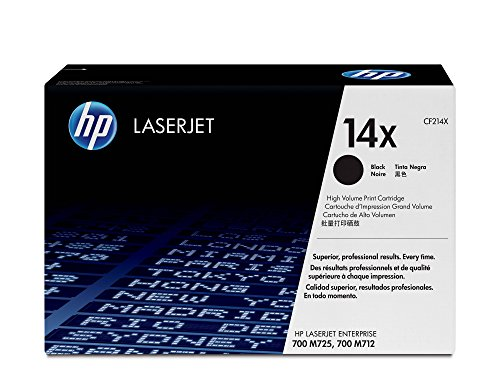 HP 14X | CF214X | Toner Cartridge | Black | High Yield
