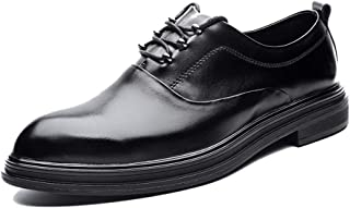 Men's Business Oxford Casual Modishness Classic Outsole Pointed Elementary Formal Shoes casual shoes (Color : Black, Size : 41 EU)