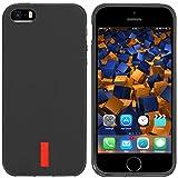 mumbi TPU Silikon Schutzhülle iPhone SE 5S 5 Hülle in schwarz - 5