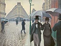 Gustave Caillebotteジクレープリント アート紙 アートワーク 画像 ポスター 複製(パリ通り;雨の日)