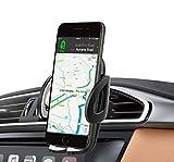pjp electronics(R), supporto universale per cellulare da applicare alla griglia di ventilazione dell'auto, girevole a 360°, per iPhone 8/X/6/7/6 Plus/6S, Samsung Galaxy S8/S7/S6, Note 8/5/4/3, HTC, Nokia, LG G6, Huawei, Oppo e altri smartphone
