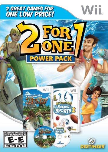2 for 1 Power Pack: Kawasaki Jet Ski/Summer Sports - Nintendo Wii