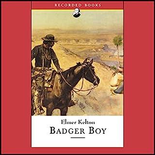 Badger Boy audiobook cover art