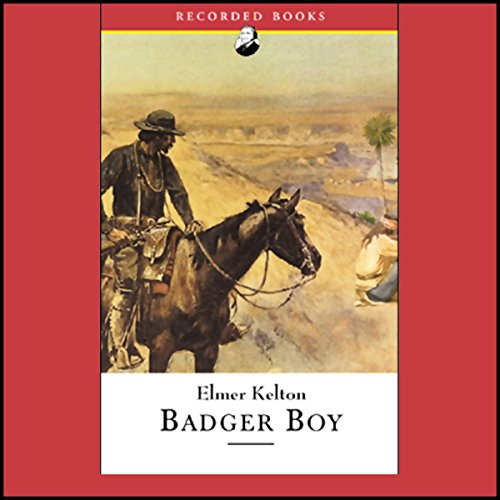 Badger Boy audiobook cover art