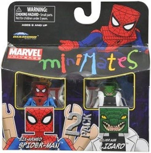 Marvel Minimates Series 37 Mini Figure 2Pack SpiderMan Lizard