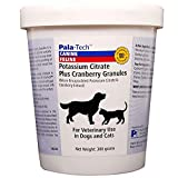 Pet Urinary Tract Health Potassium Citrate Plus Cranberry Granules for Dogs & Cats 300gm