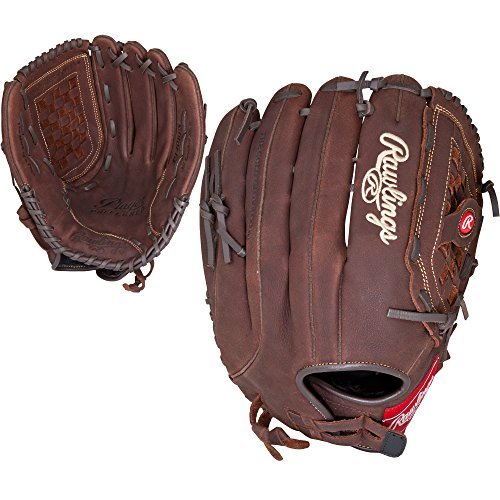 Rawlings Player Preferred Baseball Glove, Regular, Slow Pitch Pattern, Basket-Web with Support Strap, Custom Fit, 14 Inch