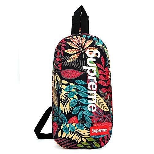 FREEML 2019 nuovo casual tasca tasca impermeabile e portatile zaino da uomo semplice borsa di stoccaggio petto selvaggio
