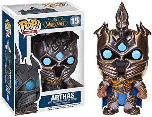 ZGZZ ¡Popular! rld of Warcraft: Figura de Vinilo Coleccionable de Arthas de la Serie Classic Games