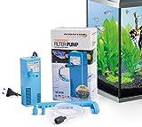 Aquaflow Technology AIF-411M - Pompe de filtre pour aquarium submersible pour eau fraîche et eau salée. Pour réservoirs d'aquarium jusqu'à 50 litres. 300L/H 2W