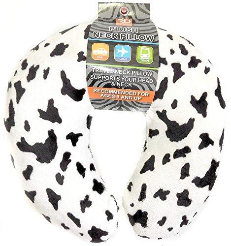 Peluche cuello viaje almohada de espuma de memoria Animal Prints Tamaño Mediano para niños adolescentes y Petites
