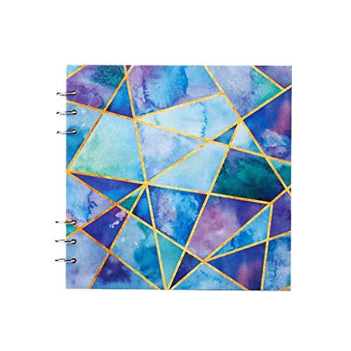 cuadernos de notas Notebook boceto, Arte Pad for el dibujo, tinta boceto libro, En blanco artista cuaderno de bocetos, Multi-Media Cuaderno con espiral, papel de dibujo (8.8 'X8.8') blocs de notas