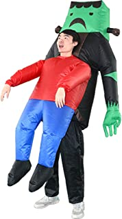 SIREN SUE A Ghost Hug Inflatable Costume for Halloween Black