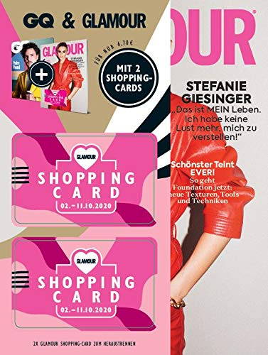 Glamour Bundle 2/2020 Mit 2 Shopping-Cards