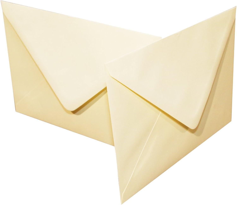 Craft UK 606 A 5 x Blautooth 1000 Umschlag – Elfenbeinfarben B07CP9DMF4 | Elegant Und Würdevoll