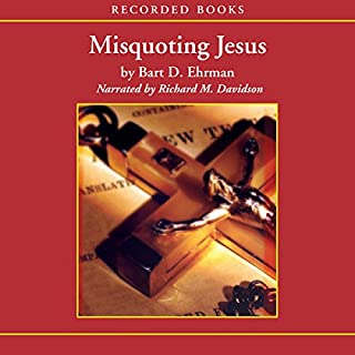 Misquoting Jesus cover art
