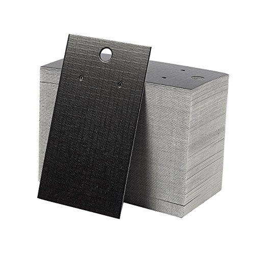 Paquete de 200 tarjetas de exhibición para pendientes, 8,89 cm x 5,08 cm