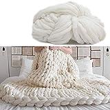 Giant Wool Yarn Chunky Yarn Super Soft Extreme Arm Knitting Crocheting Acrylic Yarn Colors Bulky Wool Yarn...