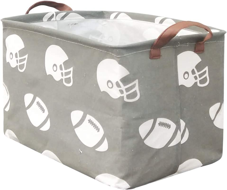 BOOHIT Rectangular Storage Basket Nursery Hamper T Easy-to-use Fabric Sales of SALE items from new works Canvas