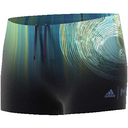 adidas Damen Inf Par Bx Badeanzug Tinnob/Azuene/Aquene, 1 Stück