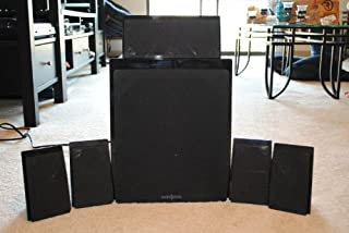 Insigina 5.1-Channel Home Theater Speaker System - Black